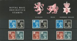 1989 Pack 20 Three Regions (Definitive Stamp Presentation Packs)